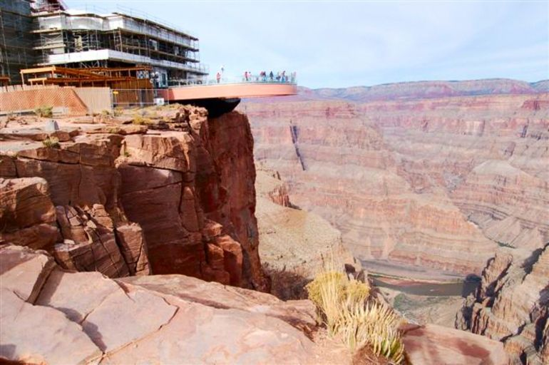 Grand Canyon SkyWalk. - Las Vegas