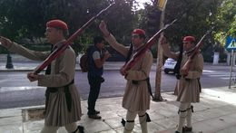 Changing of guards , athens - October 2013