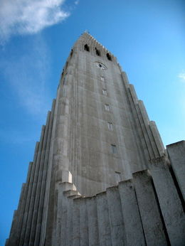 This church on a hill dominates the Reykjavik landscape , Stephen S - July 2015