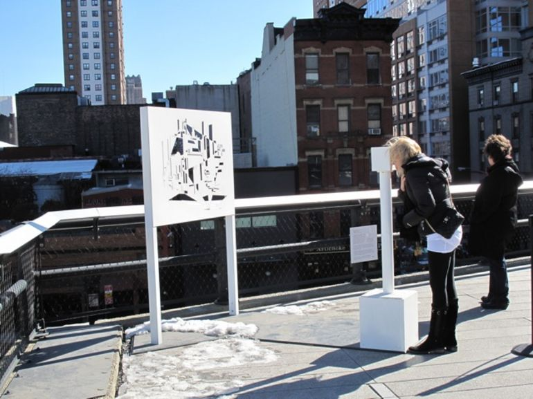 High Line Cityscape Viewer #2 -