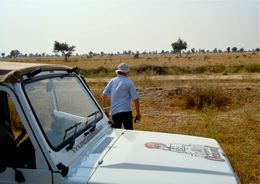 Photo of Jaipur Private Tour: Rural Jaipur by Vintage WWII Jeep with Elephant Ride Jeep safari