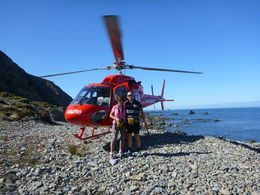 Photo of Wellington South Coaster Helicopter Flight from Wellington Landed on the south coast to view seals