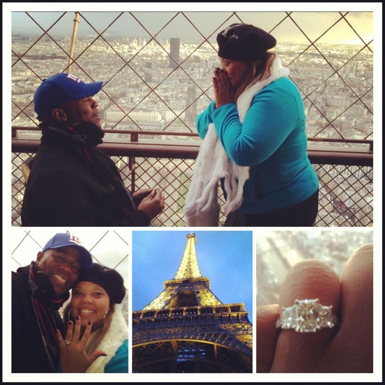 Marriage Proposal on Viator Eiffel Tower tour - Paris