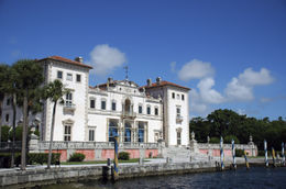 View of Vizcaya Mansion in Miami - May 2011