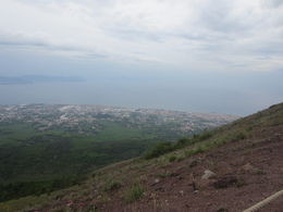 View from the top of Mt Vesuvius , Amber E - October 2015