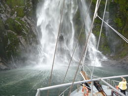 Getting up close and personal to the many waterfalls along the Sound , Ian M - May 2012