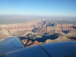 Photo of Sedona & Flagstaff Grand Canyon National Park Aerial Tour from Sedona Photo from airplane