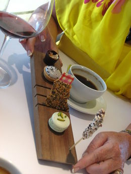 A meal to remember in the Aria Restaurant, Sydney , John Mackenzie - March 2014