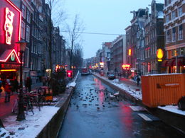 Photo of Amsterdam Amsterdam Hop-On Hop-Off Tour with Optional Canal Cruise Red Light District