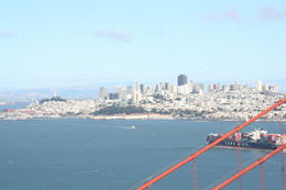 Above the Golden Gate Bridge. , Thomas M - July 2014