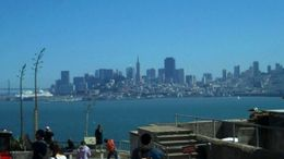View of SF from Alcatraz island, B.Chen - August 2011