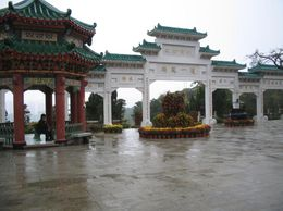 This is at the temple. - February 2008