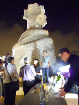 Photo of Barcelona Gaudí's La Pedrera at Night: A Behind-Closed-Doors Tour in Barcelona The after-party