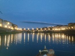 The Ponte Vecchio at Night , T D l - September 2015