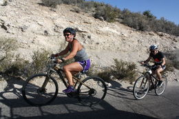 Photo of Las Vegas Guided or Self-Guided Road Bike Tour of Red Rock Canyon The long ride up Red Rock Canyon