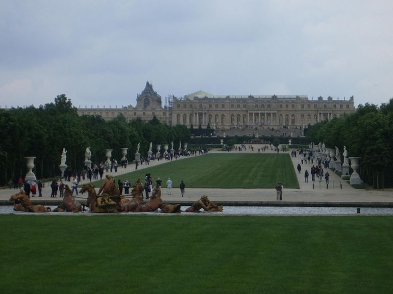 The Palace from afar... - Paris