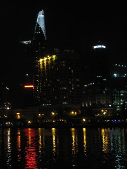 Photo of Ho Chi Minh City Ho Chi Minh City Bonsai Dinner Cruise on Saigon River The View, The Lights, The Reflections