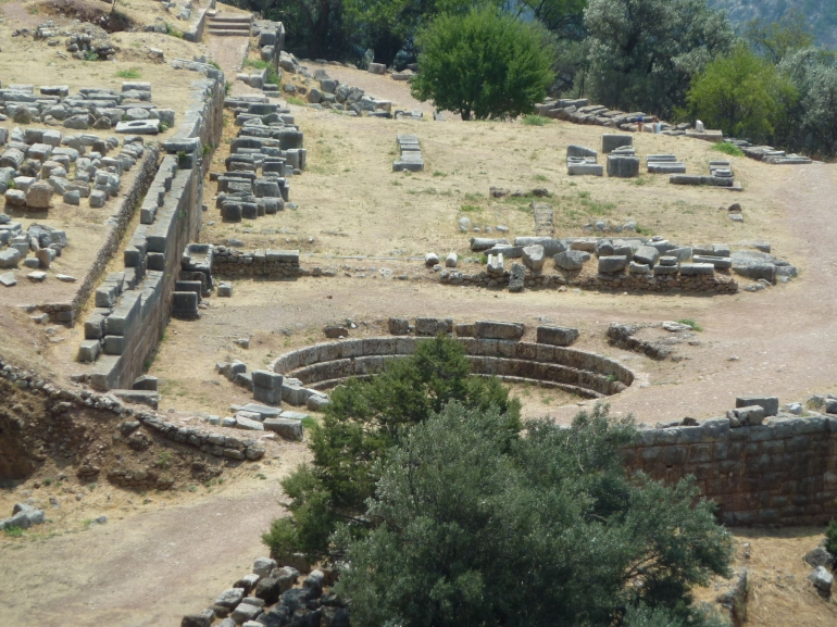 View of Delphi - Athens