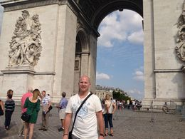Photo of Paris Arc de Triomphe Walking Tour with Access to the Summit 2013 July