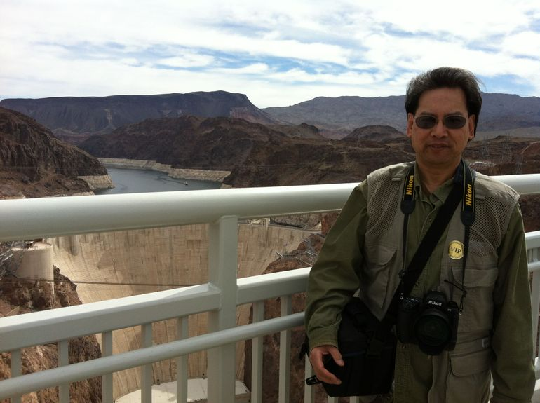 At Hoover Dam. - Las Vegas