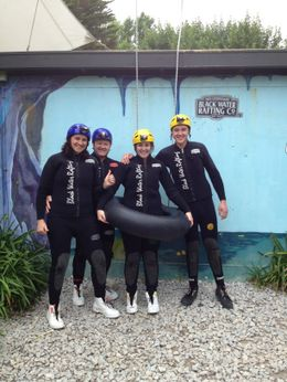 Photo of   Black Water Rafting Waitomo Caves