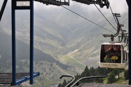 Cable car at Valle de Nuria , Nicole C - August 2011