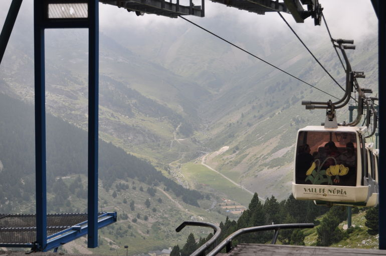 Cable car at Valle de Nuria - Barcelona