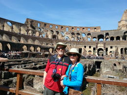 Photo of Rome Ancient Rome and Colosseum Tour: Underground Chambers, Arena and Upper Tier Colosseum Main level