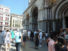 Photo of Venice Venice Super Saver: Skip-the Line Doge's Palace and St Mark's Basilica Tours, Venice Walking Tour and Grand Canal Cruise Entrance to San Marcos cathedral