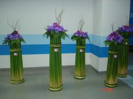 Photo of Phuket Phuket Shared Departure Transfer Floral display at Phuket airport