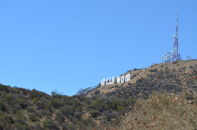 Got some great photos of the Hollywood Sign