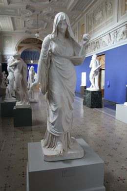 Another of Jerichau's masterpieces on display at Ny Carlsberg Glyptotek is and quot;Penelope and quot; which won him international acclaim in 1843. , Paul C - August 2014