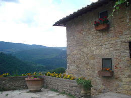 Photo of Florence Chianti Region Wine Tasting Half-Day Trip from Florence Linda paisagem!