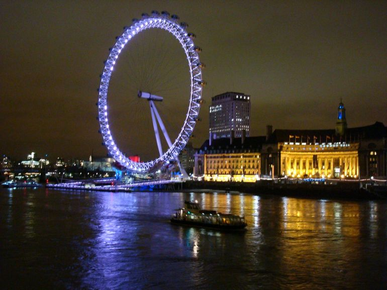 London Eye at Night - London