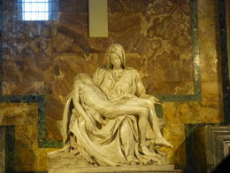 The Pieta' in St Peter's Basilica , Laura L - August 2013