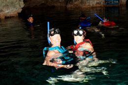 Photo of Cancun Yucatan Adventure: Snorkel, Zipline and Tulum Ruins Tour Snorkeling at Hidden Worlds