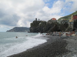 Photo of Florence Cinque Terre Hiking Day Trip from Florence Vernazza pebble beach