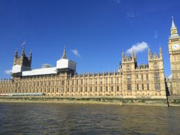 Got to see Big Ben, MI6 Headquarters, and the London Eye from the River Cruise , Aly K - June 2016