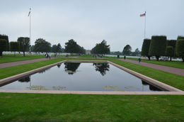 Photo of Bayeux Normandy Beaches Half-Day Trip from Bayeux American Cemetery above Omaha beach
