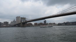 Looking towards Manhattan after our stop at Grimaldi's Pizza in Brooklyn. , Randall H - August 2014