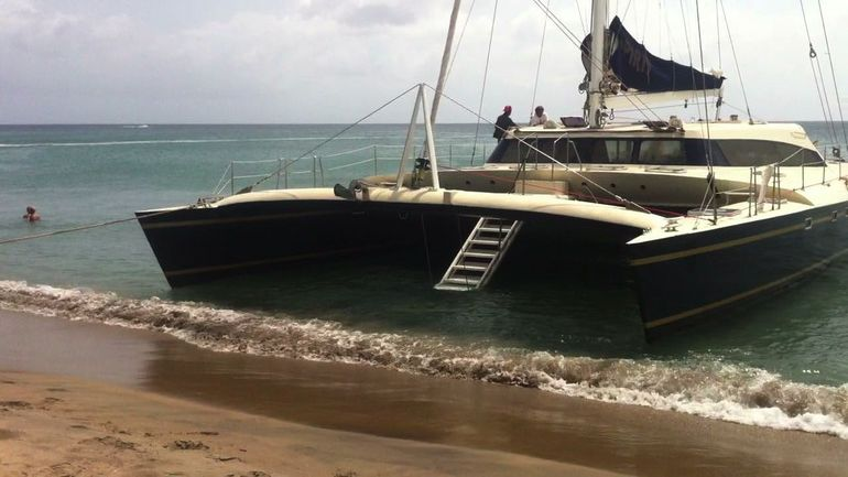 Catamaran Party Cruise to Nevis from St. Kitts - St Kitts