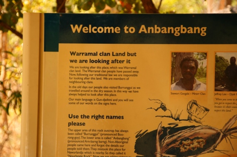 Great signs. - Northern Territory