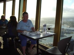 Photo of Sydney Sydney Tower Restaurant Buffet My wife, Sandra