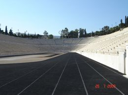 Old Olympic stadium, Olivia Z - August 2009