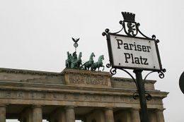 Pariser Platz at Brandenberg Gate, Martin W - December 2008