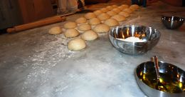 The class worked hard and now we wait for the dough to rise. , Donna H - June 2013