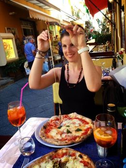 The Pizza is definitely the BEST in Italy! , Danielle v - September 2014