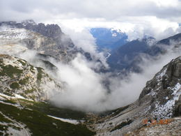 Photo of Venice Dolomite Mountains Small Group Day Trip from Venice The clouds parted for us