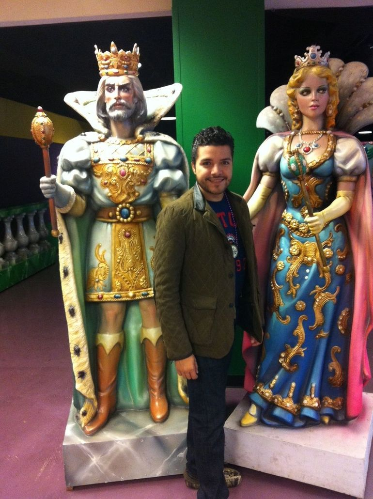 The Mardi Gras King�s and me - New Orleans