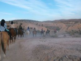 Photo of Las Vegas Wild West Sunset Horseback Ride with Dinner The trails